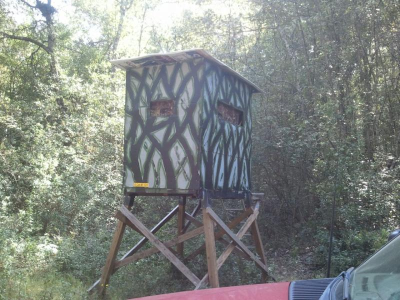 D-I-Y 6x8 box blind - TexasBowhunter