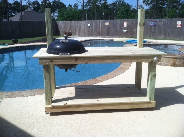 weber grill wood table 2