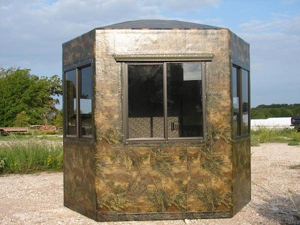 deer new hunting fiberglass products blinds dillon manufacturing