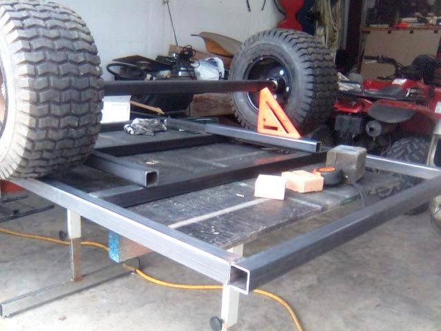 My Pull Behind Atv Trailer Build Along Pic Heavy