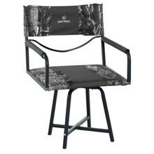 realtree hunting of chair blind padded blinds stool tall max camo seat banded new swivel