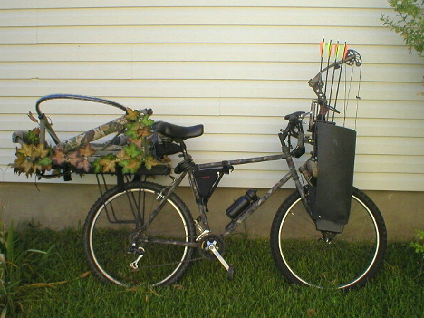 Camo Bike And Bow Rack Texasbowhunter Com Community Discussion