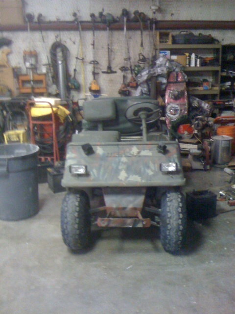 Complete golf cart rebuild texasbowhunter community attached images solutioingenieria Choice Image