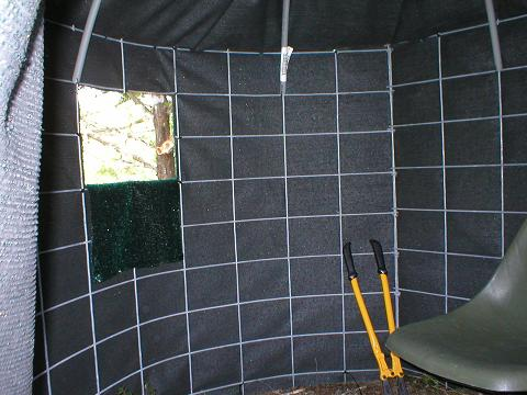 deer blind ground nd homemade hunting melissatoandfro blinds gt sdehomemade bow concelment holder making ultmte