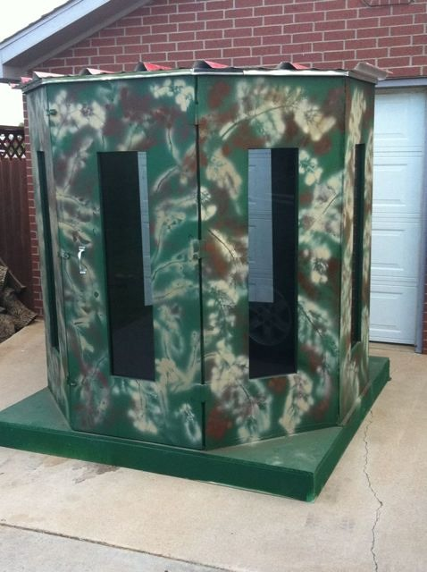 Bow Hunting Blind Plans