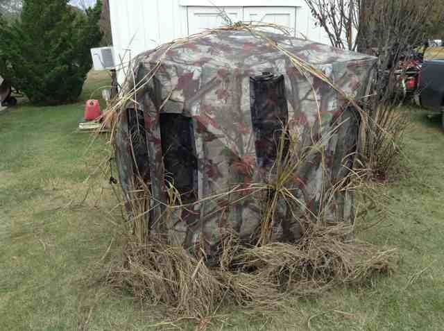 blind hunting pop blinds up product ox backwoods ground big barronett