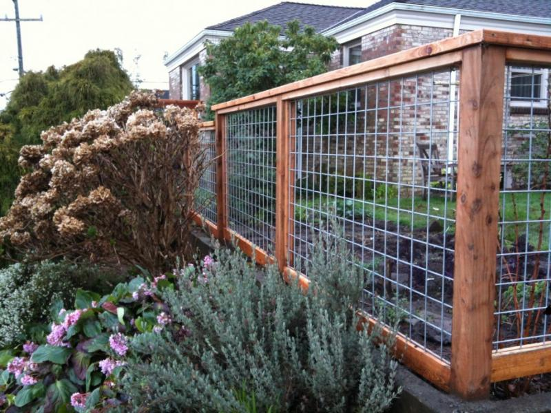 ... Name: Amazing-And-Awesome-Wire-Fence-Design-Ideas- ... - Fencing Question: Ranch Wire/Cattle Panel W/ Wood Trim