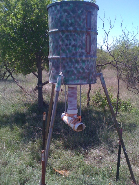 how-to build cheap protein feeders - TexasBowhunter com