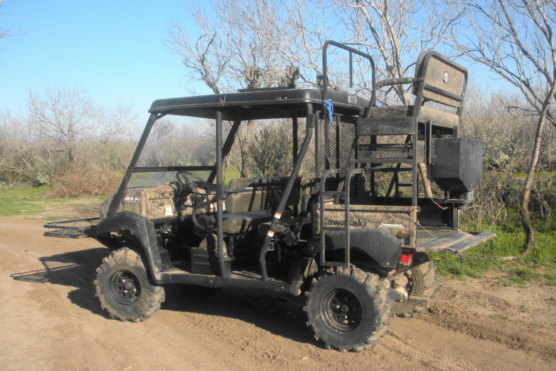 Kawasaki Mule - TexasBowhunter com Community Discussion Forums
