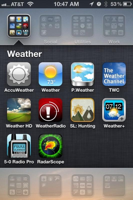 Best weather app? - TexasBowhunter com Community Discussion