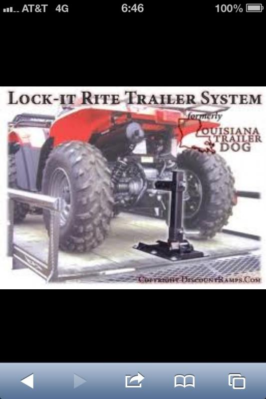 Tying down your UTV/ATV - TexasBowhunter com Community