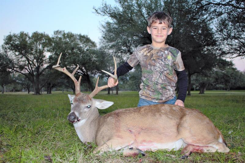 Name:  Chases First Buck 2019.jpg Views: 137 Size:  90.4 KB