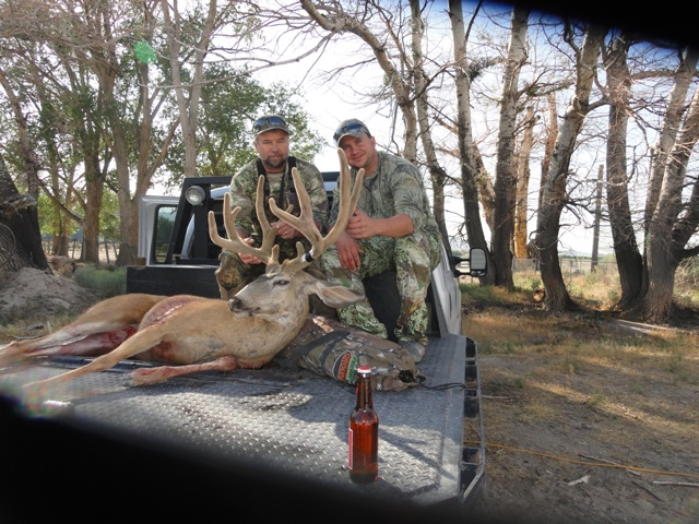 Name:  Dad buck and me!.JPG Views: 1123 Size:  166.6 KB